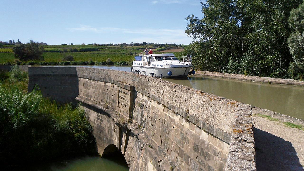 Mit dem Hausboot auf dem Canal du Midi – eine Zeitreise